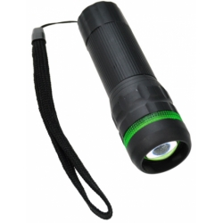 Svítilna 1W LED - WL07, FOKUS, pogumovaná 3 x AAA