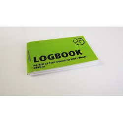 Logbook - malý (35x60mm)