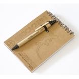 Logbook - recyklovaný papír - 105x145mm