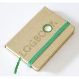 Logbook - recyklovaný papír - 75x102mm