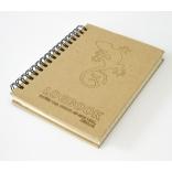 Logbook - recyklovaný papír - 109x155mm