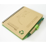 Logbook - recyklovaný papír - 130x180mm