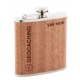 Geocaching Placatka s dřevěným povrchem + NICK