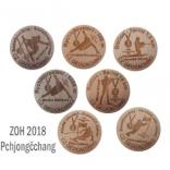 Pchjongčchang - SADA medailí ZOH 2018