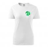 Triko - ještěrka color (zelená) | dámské
