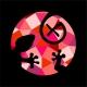 Triko - ještěrka color (červená) | dámské