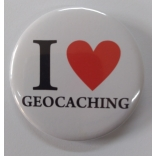 Placka I LOVE GEOCHACHING  větší