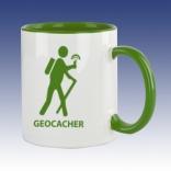 Hrnek bíla - Geocacher