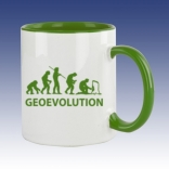 Hrnek zelená - Geovolution