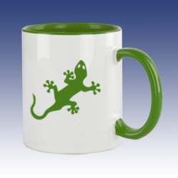 Hrnek zelená - Ještěrka - CWG Shop - Nejlevnější výrobce CWG dd1c4e1bc1