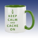 Hrnek zelená - Keep Calm