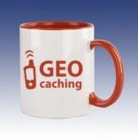Hrnek červená - Geo-caching