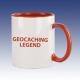 Hrnek červená - Geocaching Legend