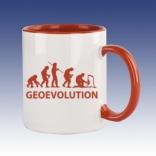 Hrnek červená - Geovolution