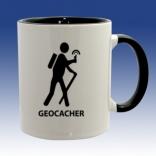 Hrnek černá - Geocacher