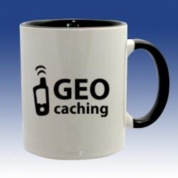 Hrnek černá - Geo-caching