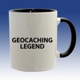 Hrnek černá - Geocaching Legend