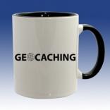 Hrnek černá - Geocaching globus