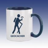Hrnek modrá - Geocacher