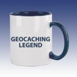 Hrnek modrá - Geocaching Legend