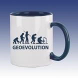 Hrnek modrá - Geovolution