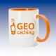 Hrnek oranžová - Geo-caching