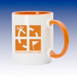 Hrnek oranžová- Geocaching.com