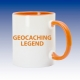 Hrnek oranžová - Geocaching Legend