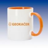 Hrnek oranžová - Geokačer
