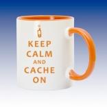 Hrnek oranžová - Keep Calm
